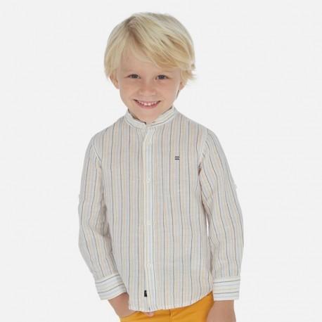 Koszula na stójce chłopięca Mayoral 3170-28 Żółty