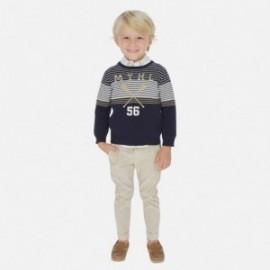 Spodnie lniane dla chłopców Mayoral 3528-41 Beżowy