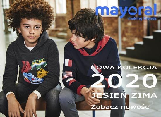 Mayoral nowa kolekcja JESIEŃ ZIMA 2020