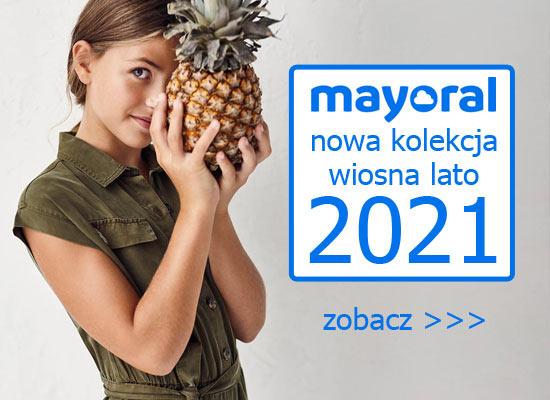 Mayoral nowa kolekcja wiosna lato 2021